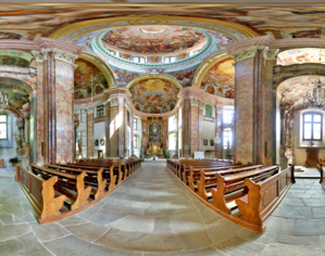 360° Panorama Kirche